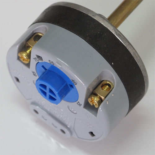 Rod type thermostat