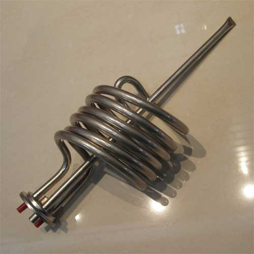 Immersion Electric Hot Water Heating Elements - Spiral Geyser element - Soft water